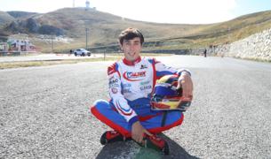 El pilot de karts, Àlex Machado