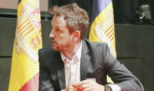 Pere López, recentment escollit president del PS, durant l'entrevista.