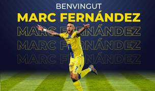 Marc Fernández, nou fitxatge del FC Andorra