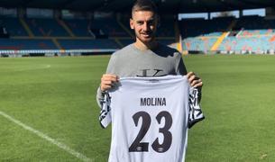Sergio Molina jugava al Salamanca