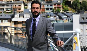 El primer secretari del PS, Gerard Alís, durant l'entrevista.