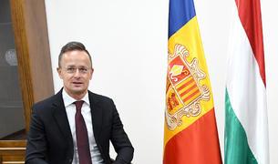 El ministre d'Afers Exteriors d'Hongria, Péter Szijjártó.