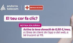 Andorra Telecom promociona les donacions solidàries