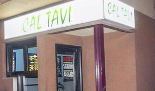 L'administració de loteria de Cal Tavi, on es va validar la butlleta guanyadora.