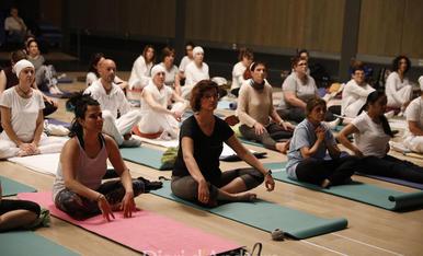 'Masterclass' de ioga solidària d'Unicef Andorra