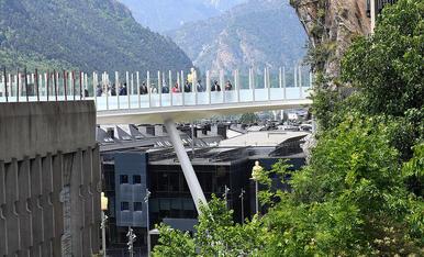 Inauguració de la passarel.la Rosa Ferrer