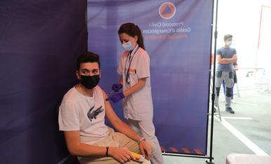 Vacunació de joves