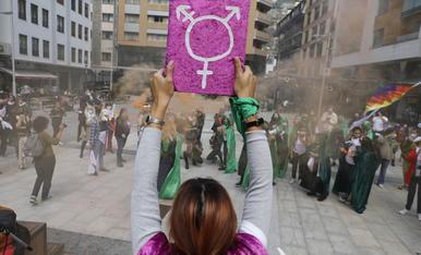 Manifestació pro avortament