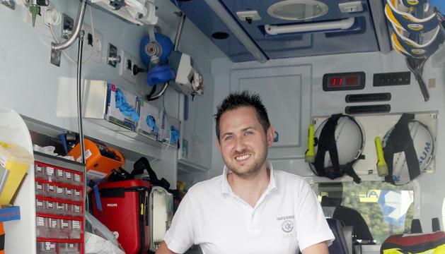 Miquel Rey atén urgències a l'hospital i també surt amb l'ambulància o l'helicòpter.