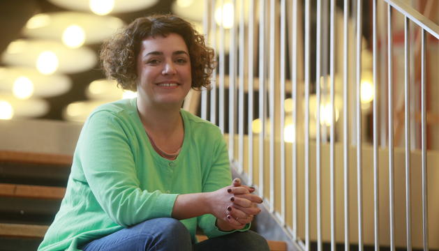 Patty Bafino, directora de Cultura d'Andorra la Vella