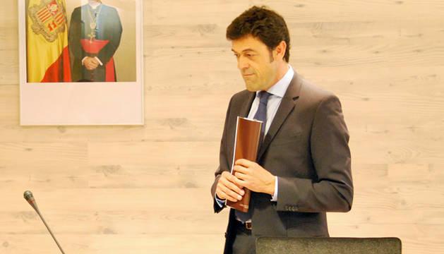 El president de la mancomunitat, Josep Àngel Mortés.