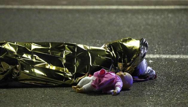 Una de les víctimes