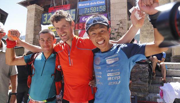 L'arribada a la vuitena edició de l'Andorra Ultra Trail Vallnord ha deixat imatges per al record.