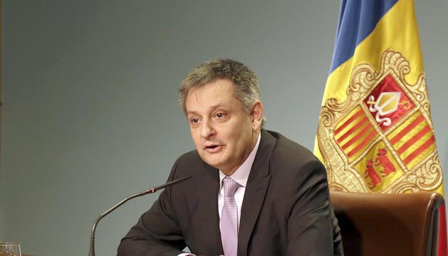 El ministre d'Afers Exteriors, Gilbert Saboya.