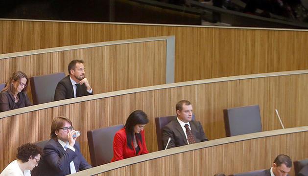 Els grups de l'oposició al Consell General.