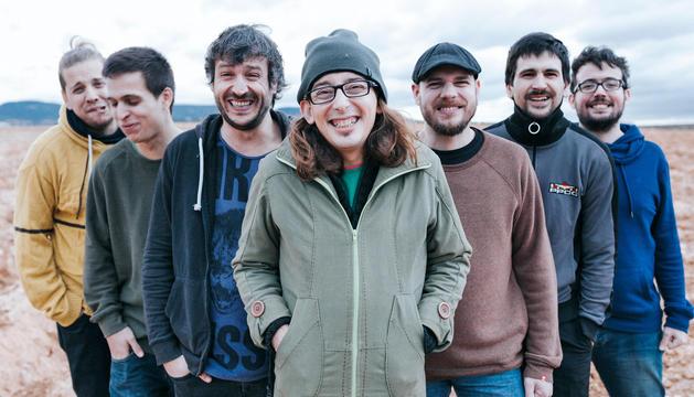 Imatge dels integrants del grup de rock de Calafell.