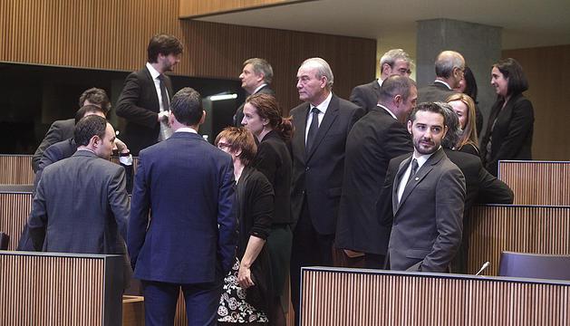 Consellers del grup parlamentari demòcrata al Consell General.