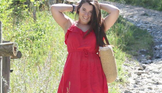 La Vanessa Villen en una de les imatges del seu perfil social.