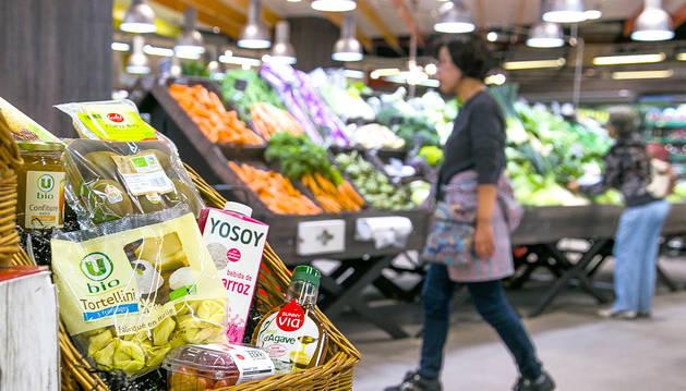 Els supermercats del país han notat un augment de la demanda dels productes ecològics i biològics.