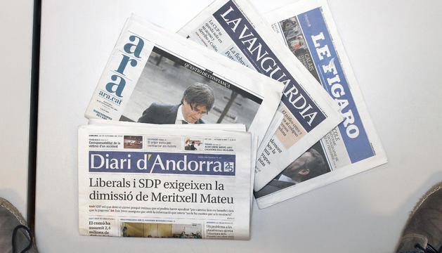 5. Llegeixo cada matí la premsa nacional i internacional, m'agrada estar informat.
