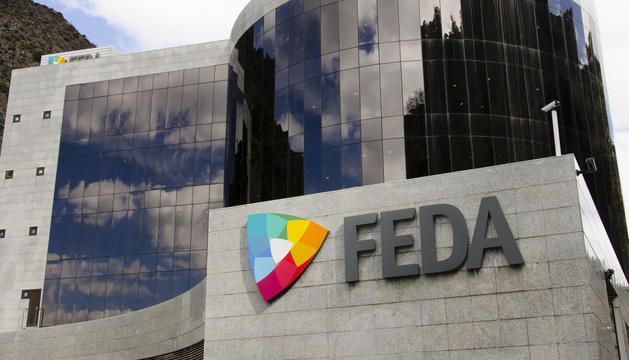 Una imatge d'arxiu de l'edifici de FEDA.