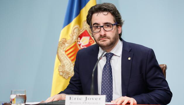 El ministre d'Educació i Ensenyament Superior, Èric Jover.