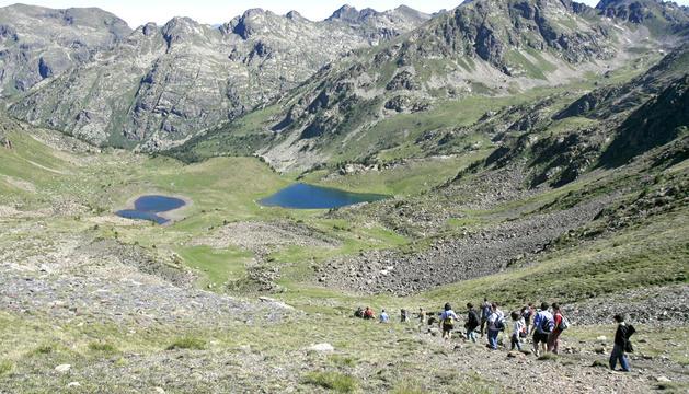 9. Els camins de muntanya són imprescindibles per a mi. La muntanya d'Andorra l'he caminada tota.