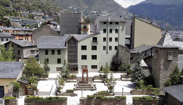 Vista de la casa de les Monges.