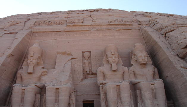 Abu Simbel, a Egipte, és un dels llocs que més fascinen a Francesc Figuera