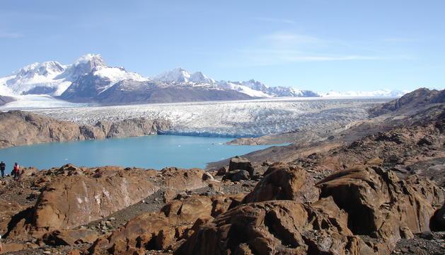 La glacera d'Upsala, a l'Argentina