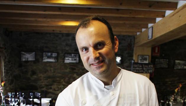 Amaro Batista, xef de la Borda Restaurant Eulari (Anyós)