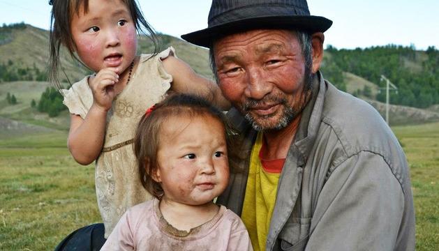 una foto de l'estada a Mongòlia.