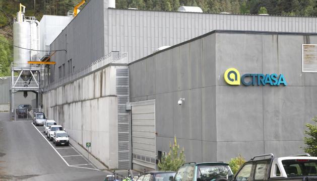 L'exterior de l'edifici de CTRASA.