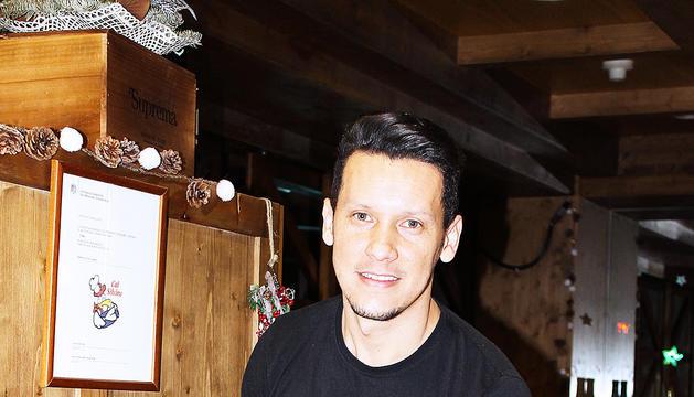 Jefferson Cordeiro, xef del Restaurant Cal Silvino.
