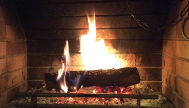 Una llar de foc, perquè són moments de família i de relax.
