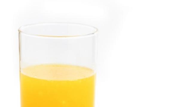 Un suc de taronja natural de bon matí (i se me'l porten al llit, molt millor).