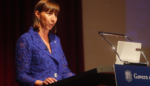 Eva Descàrrega en una imatge d'arxiu.