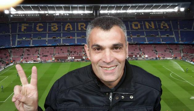 7. Un partit del Barça, passió i entreteniment. Ens unia amb el pare.