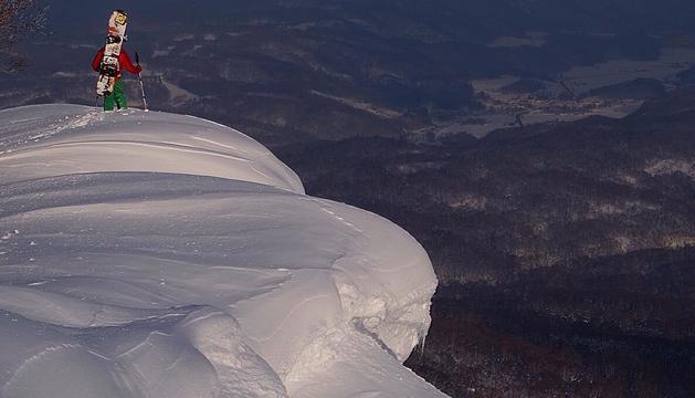 Fent esquí al Japó