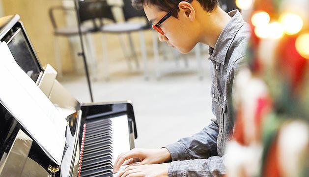 El Lluís Andrés (11 anys) és el més jove del grup.