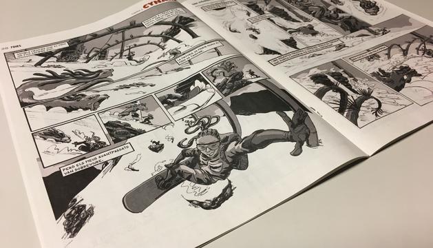 El primer capítol del còmic 'Cynara' al setmanari '7dies'