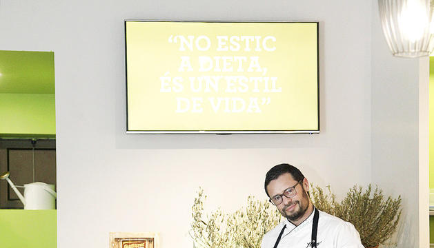 Rodrigo Codone, cuiner del restaurant The Healthy