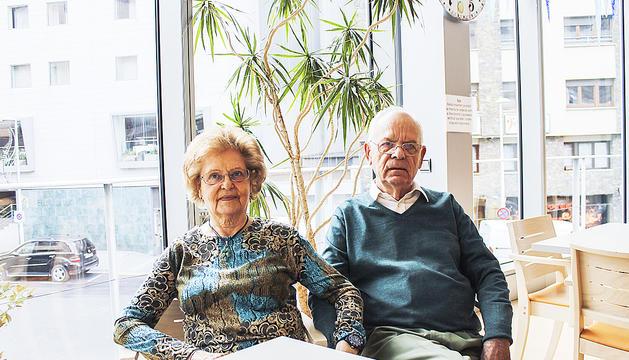 La Roser Ventura i el Marià Estrada,  porten 51 anys de matrimoni.