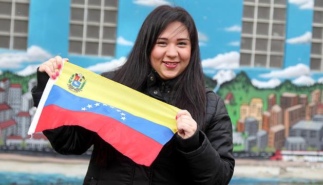 Amb veneçuela al cor