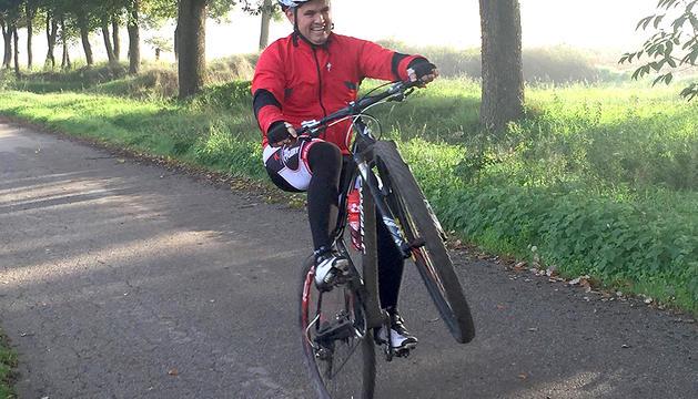 8. Les dues rodes em van: la bicicleta m'agrada per passejar.