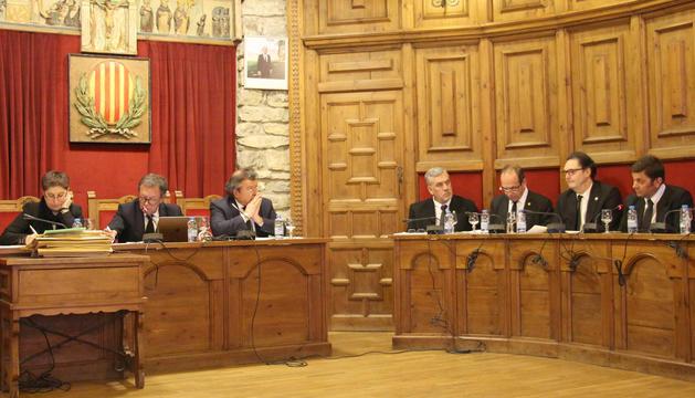 Sessió extraordinària del consell del Comú de Sant Julià de Lòria, aquest dimecres
