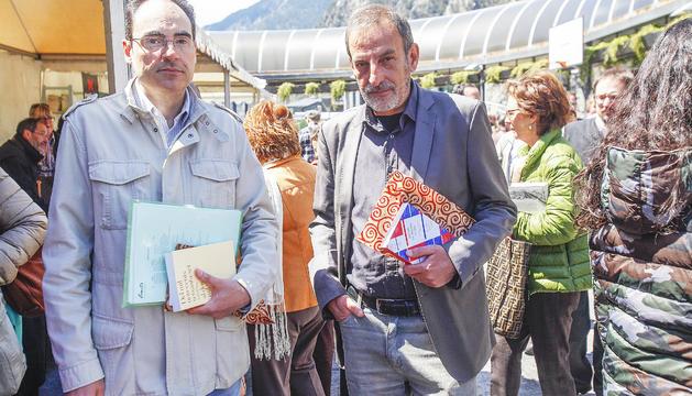 Marc Miró i Miquel Clua, l'actual tàndem responsable del segell.