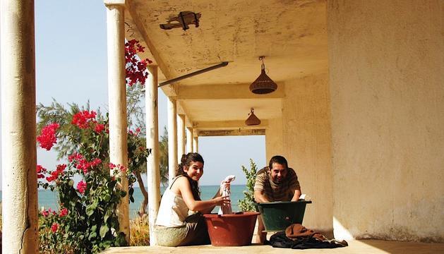 Gemma Sanpons i Marc Fajardo al Senegal