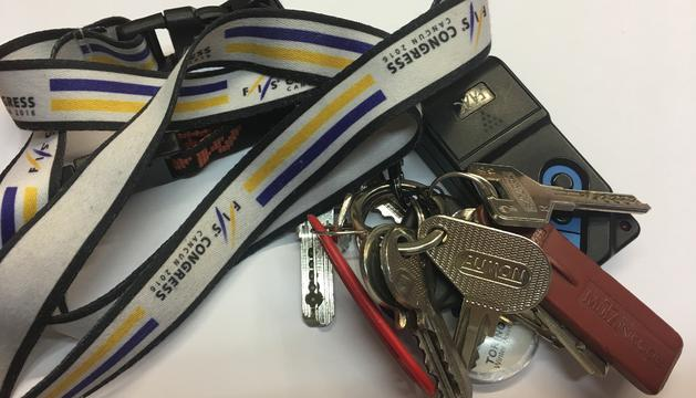 7. Amb les cintes per dur les claus la meva vida ha canviat!