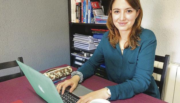 Nerea Iglesias diu que no és escriptora habitual.
